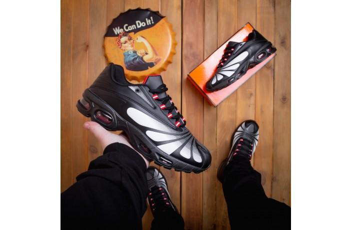 Мужские кроссовки Ривал батерфляй (черно-белые)