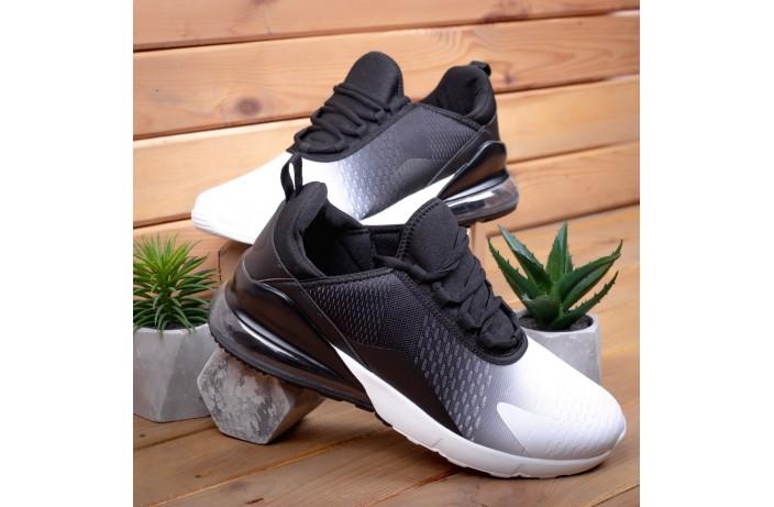 Мужские кроссовки Монтевід 270  (черно-белые)
