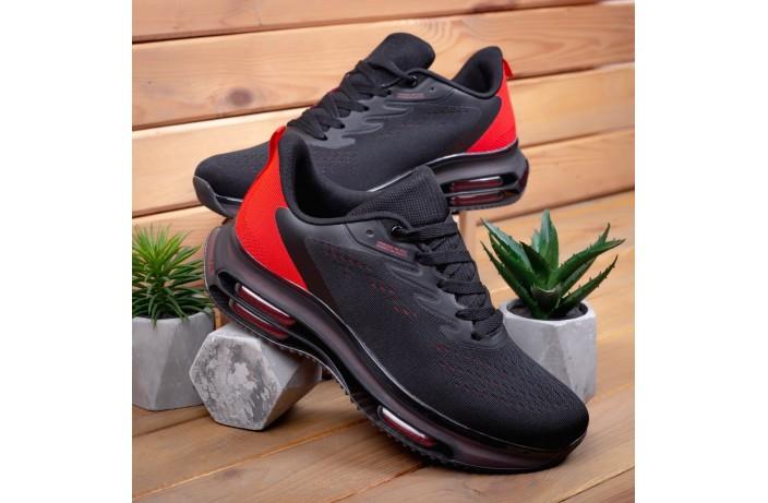 Мужские кроссовки Дифено Рейдж (черно-красные)