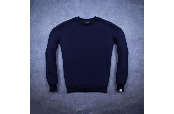 Мужской свитшот Pobedov '001' (темно-синий)