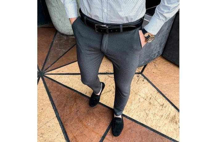 Мужские штаны 100% (антрацит)