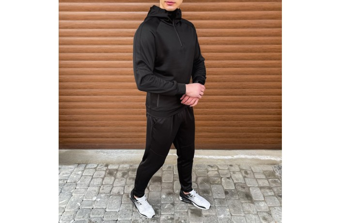 Мужская кофта-олимпийка Green (черная)