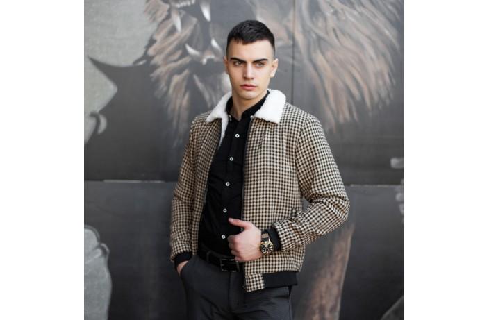 Мужская куртка St.Tropez (бежевая)
