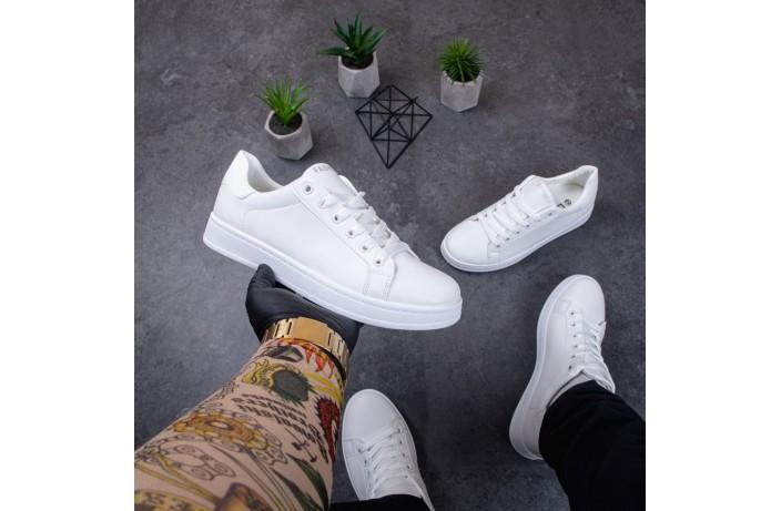 Мужские кроссовки ЛБ Фешн (белые)