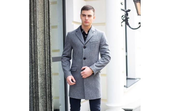 Мужское пальто Batya2 (гусиная лапка серая)