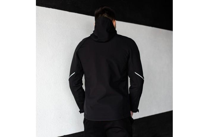 Мужская куртка Round (черная)