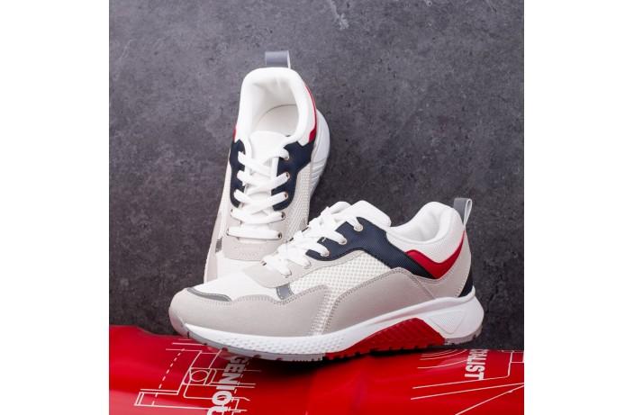 Мужские кроссовки Вонекс Аластор (серо-белые)