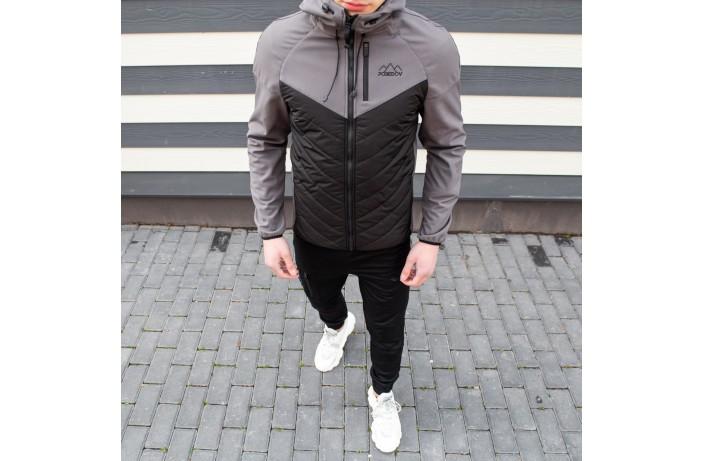 Куртка Soft Shell combi V2 (серая вставка)