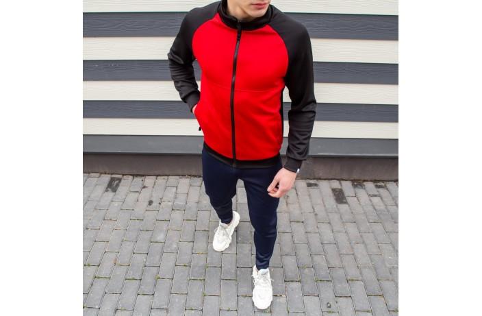 Мужская кофта 'Kuta' (черно-красная)