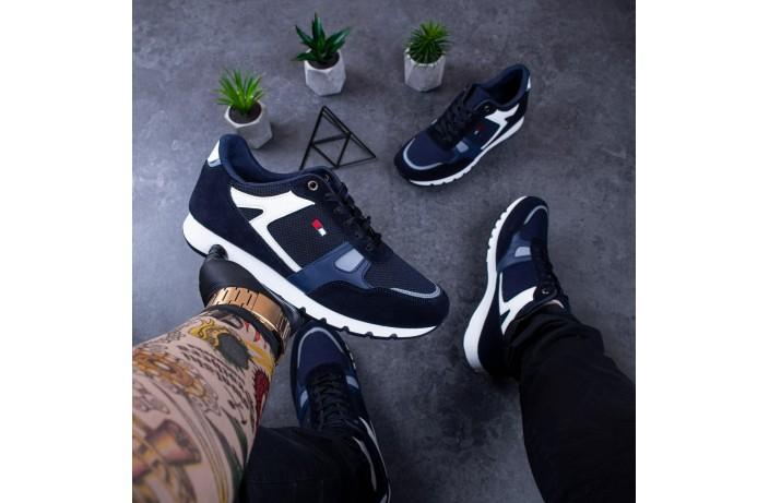 Мужские кроссовки Харос Томми (синие)