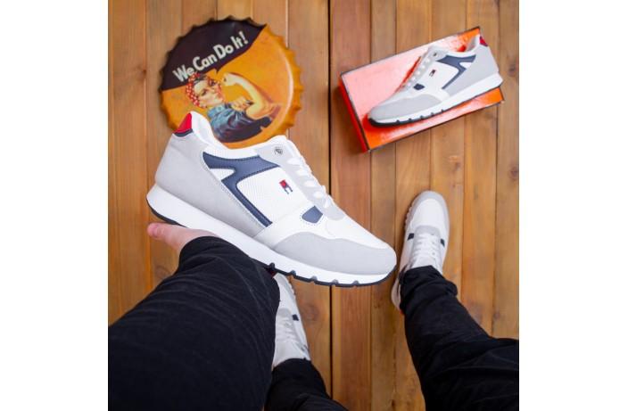 Мужские кроссовки Харос Томми (белые)