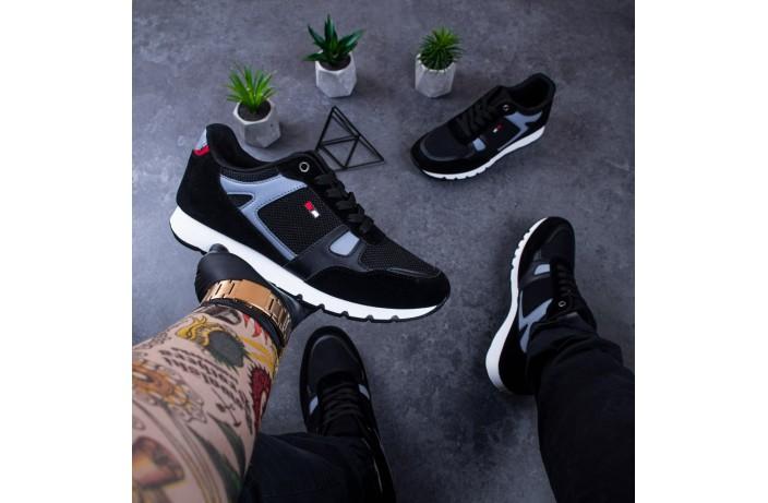 Мужские кроссовки Харос Томми (черные)