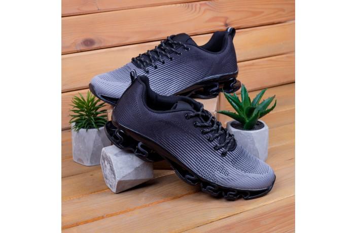 Мужские кроссовки Ривал УПЛ  (черные с антрацитом)