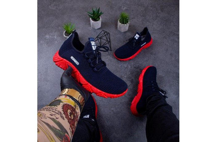 Мужские кроссовки Тим Сейт (синие)