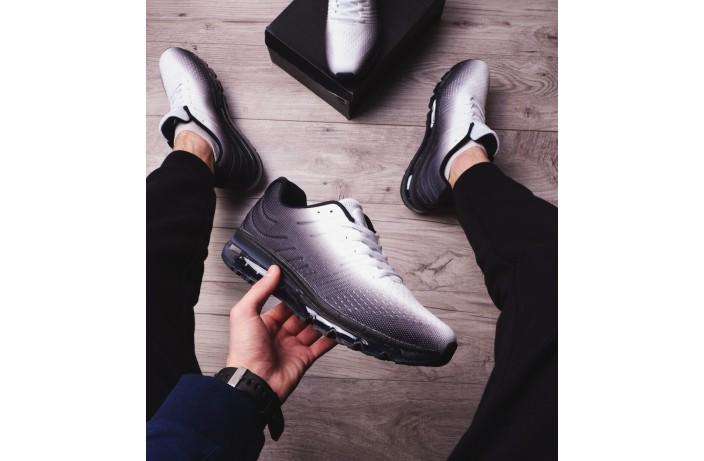 Мужские кроссовки Ривал 360 (черно-белые)