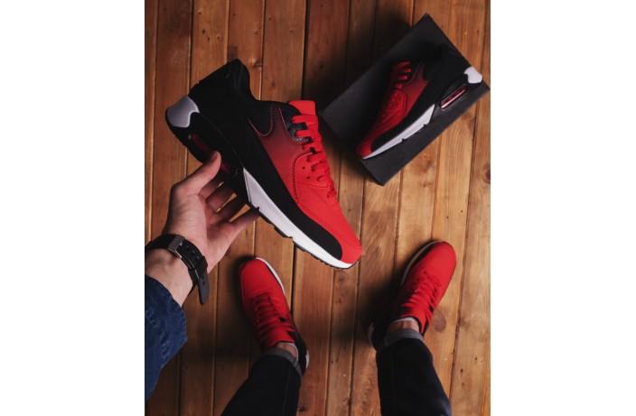 Мужские кроссовки Ривал 90 (красные)