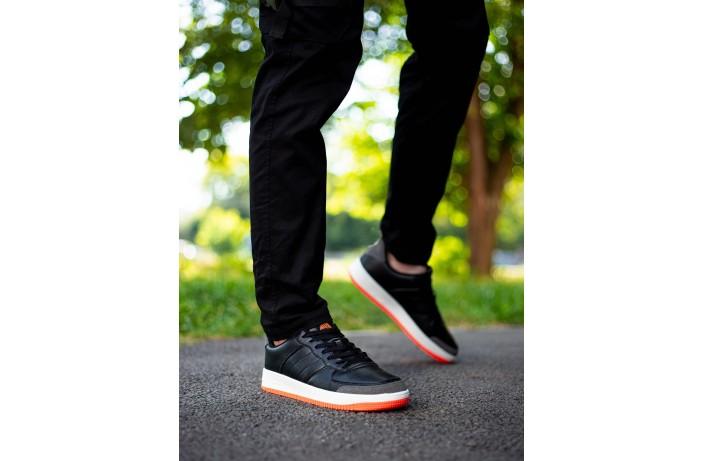 Мужские штаны Vibukh на флисе (черные)