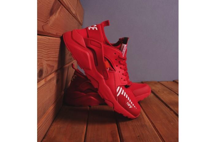 Мужские кроссовки Найс ОФФ (красные)