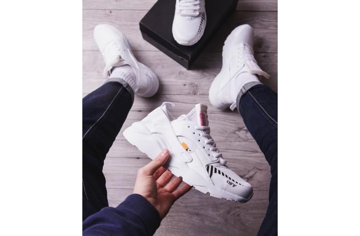 Мужские кроссовки Найс ОФФ (белые)