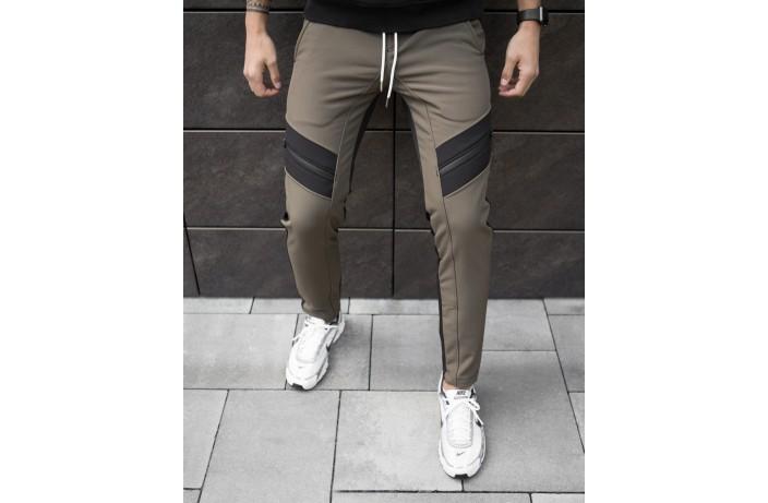 Мужские зимние штаны Soft Shell 'San Andreas' (хаки с черным)