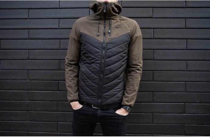 Куртка Soft Shell combi V2 (вставка хаки)