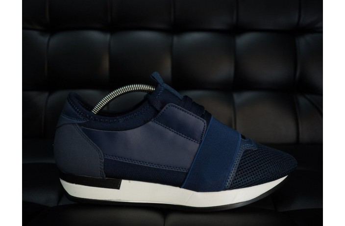 Мужские кроссовки Вон (синие)