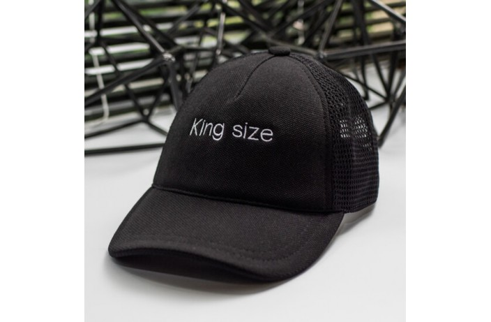 Кепка King size (черная)