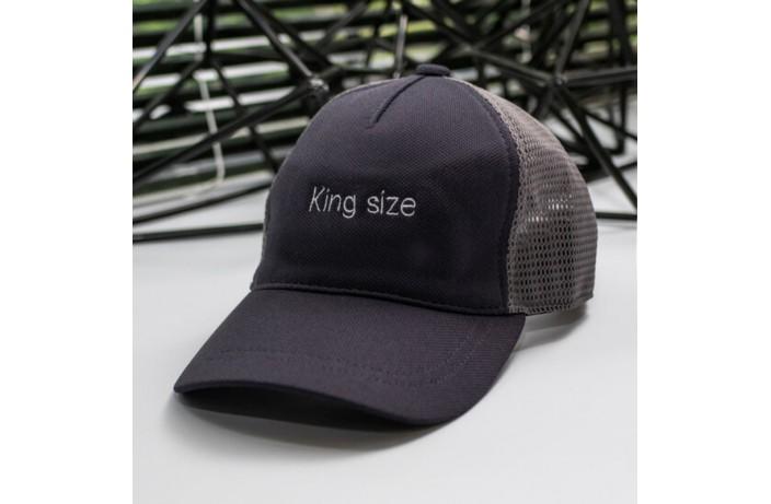 Кепка King size (антрацит)