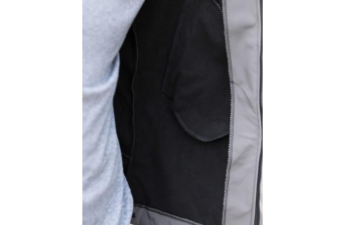 Мужская куртка Soft Shell (серая)
