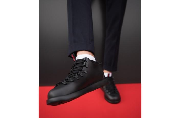 Мужские кроссовки Нейтив (полностью черные)