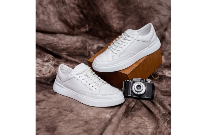 Мужские кроссовки Ферет (белые)