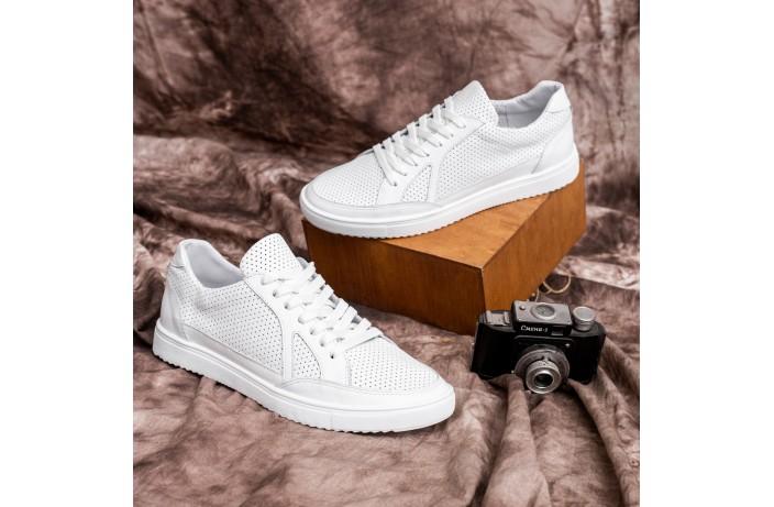Мужские кроссовки Визаж Спорт (белые)