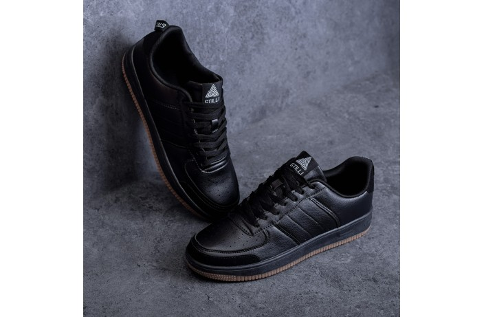 Мужские кроссовки Стилли форс Тресс (дарк)
