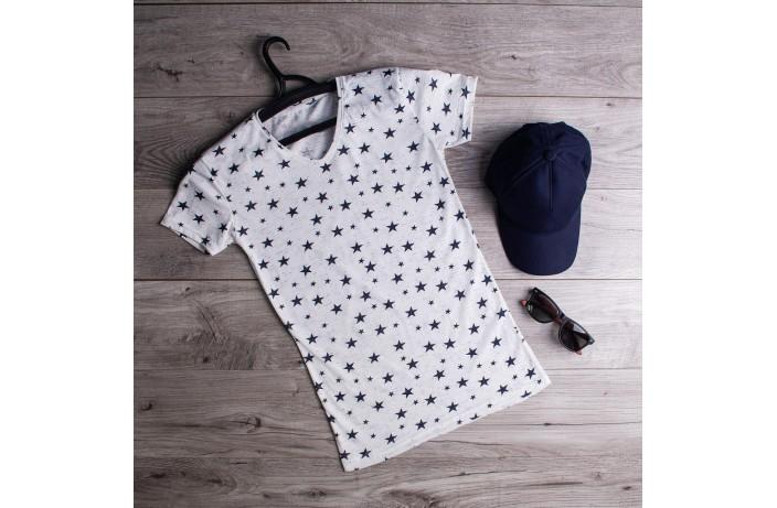 Мужская футболка Stars (белая)