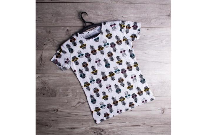 Мужская футболка Ananas (белая)