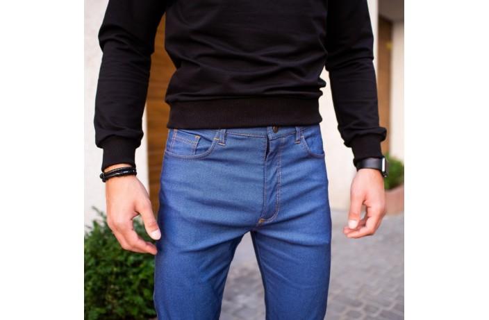 Мужские джинсы Poleteli (светло-синие)