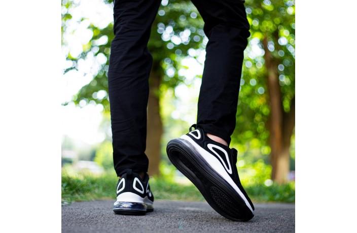 Мужские кроссовки Ривал Арт 720 (черныо-белые)