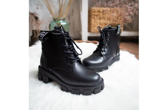 Женские ботинки Стилли РОТ (черные)