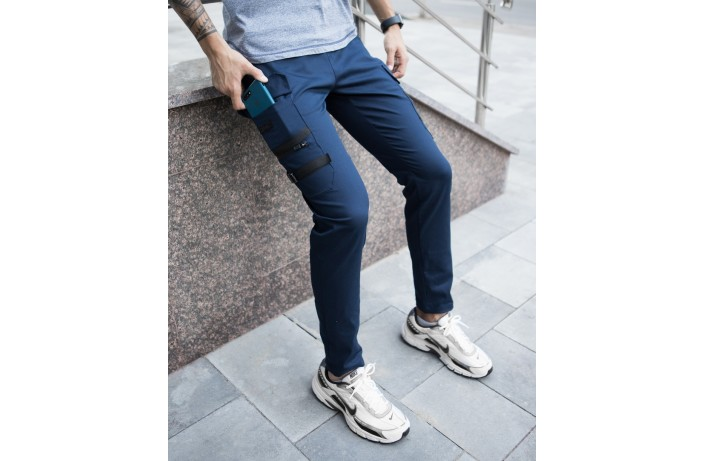 Мужские штаны Mezhigorye (синие)