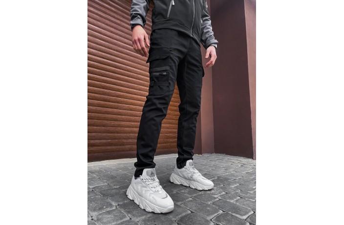 Мужские штаны Mezhigorye (черные)