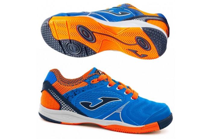 Обувь для зала детская (футзалки, бампы) синяя Joma DRIBLING