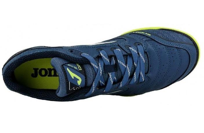 Обувь для зала (футзалки, бампы) синие Joma DRIBLING