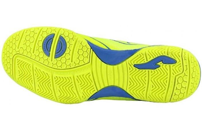 Обувь для зала (футзалки, бампы) желтая Joma DRIBLING