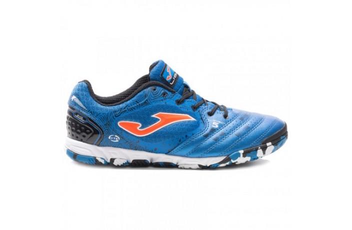 Обувь для зала (футзалки, бампы) синяя Joma LIGA 5