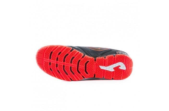 Обувь для зала (футзалки, бампы) черная Joma LIGA 5