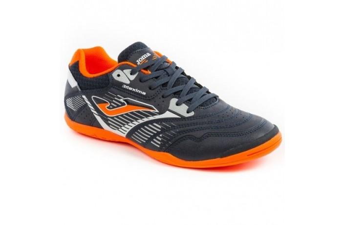 Обувь для зала (футзалки, бампы) т.сине-оранжевые Joma MAXIMA