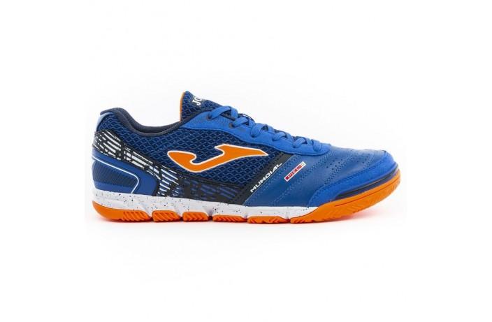 Обувь для зала (футзалки, бампы) синие Joma MUNDIAL