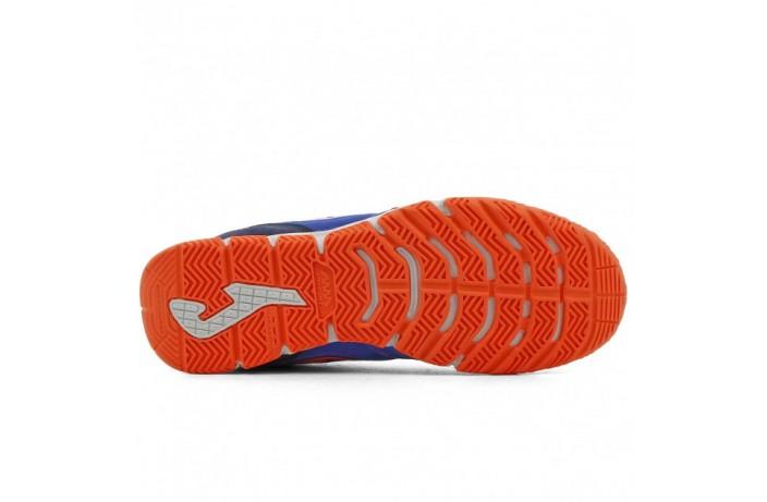 Обувь для зала (футзалки, бампы) сине-оранжевые Joma PENALTI
