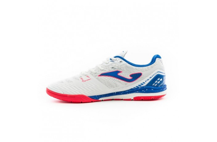 Обувь для зала (футзалки, бампы) бело-синие Joma REGATE
