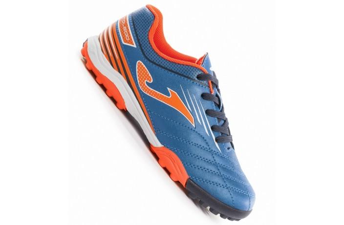 Обувь для зала детская (футзалки, бампы) сине-оранжевая Joma TOLEDO